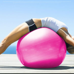 65cm Pink Fitness Ball