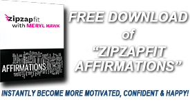 FREE DOWNLOAD OF 'ZipZapFit AFFIRMATIONS'