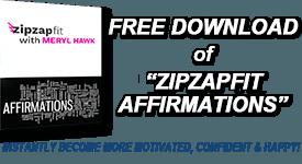 FREE DOWNLOAD OF 'ZipZapFit AFFIRMATIONS'