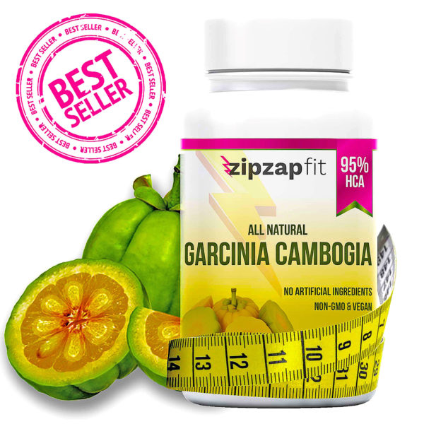 Zipzapfit Garcinia Cambogia Weight Loss Supplement 60 Capsules