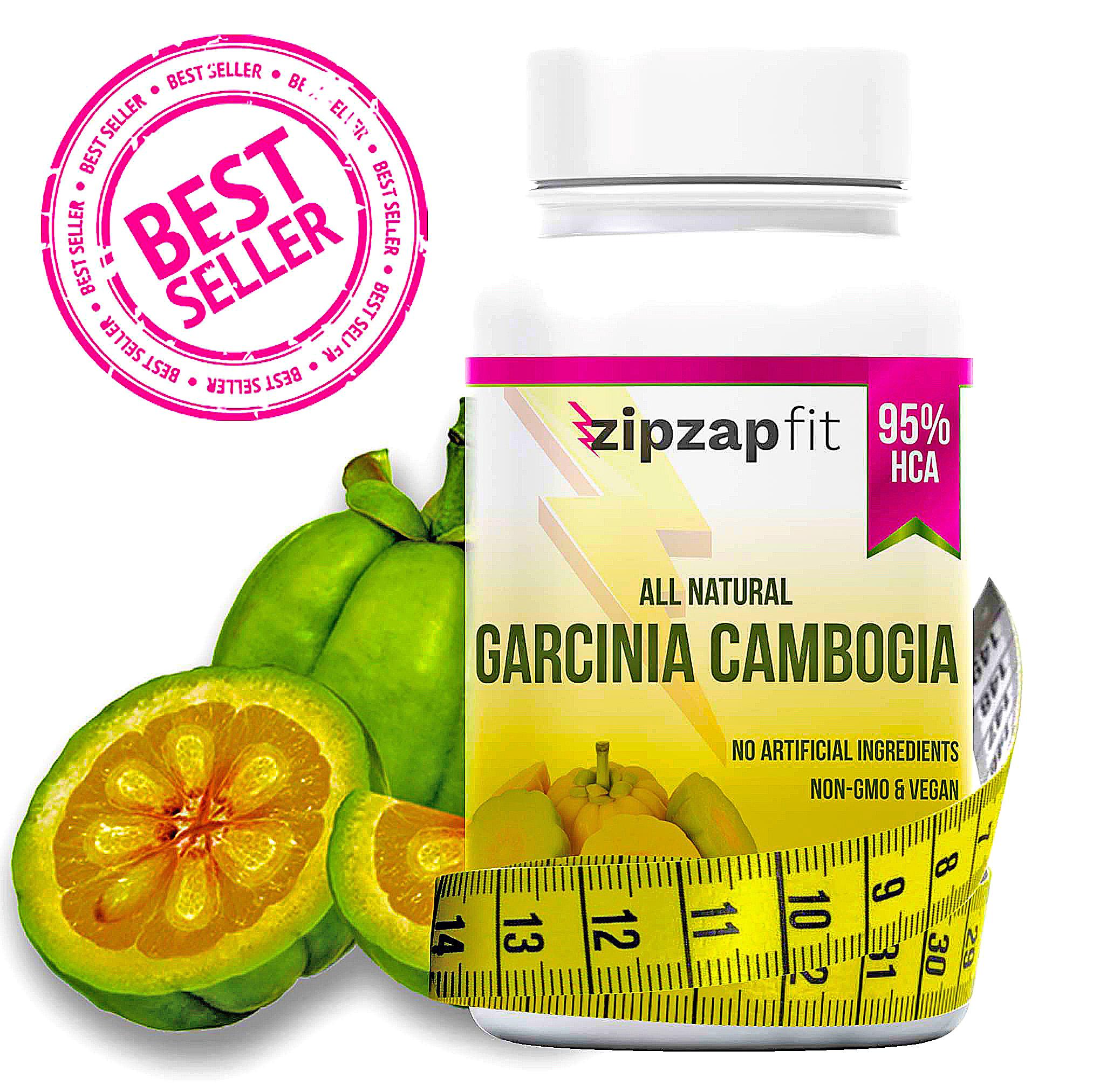 Zipzapfit Garcinia Cambogia Weight Loss Supplement 60 Capsules